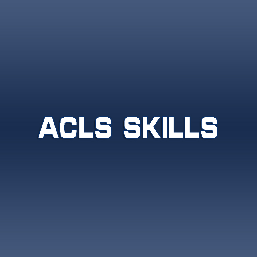 Heartcode ACLS Skills Only must have online completed